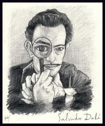 Salvador Dalí Retrato