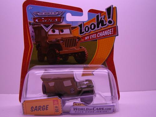 CARS Lenticular Sarge