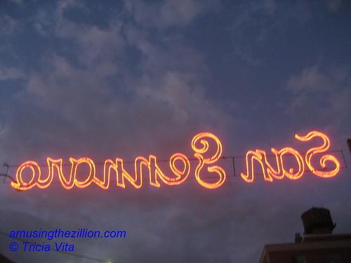 Lights at Figli di San Gennaro. Photo © Tricia Vita/me-myself-i via flickr
