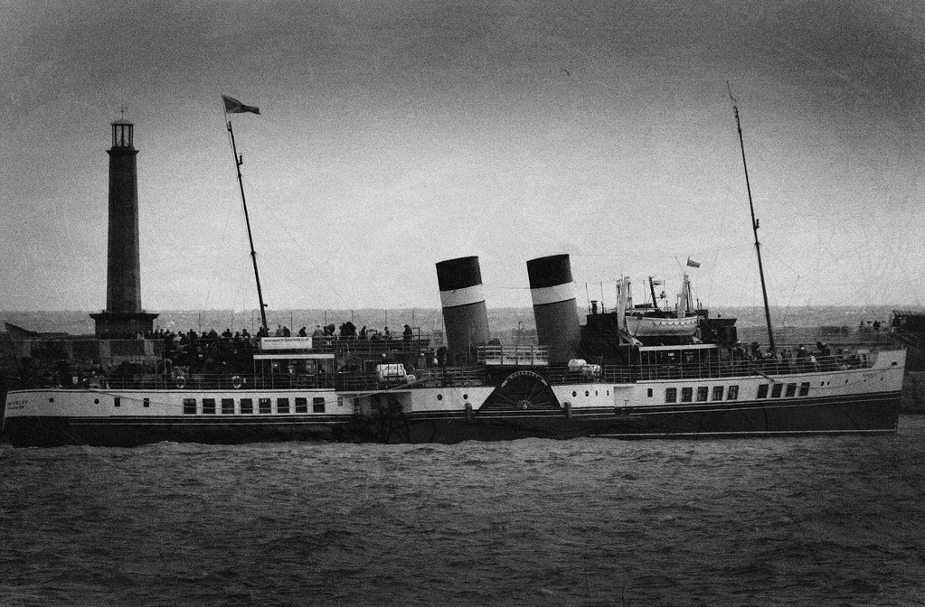 SS Waverly; last paddlesteamer by `miRЯim ツ ☮