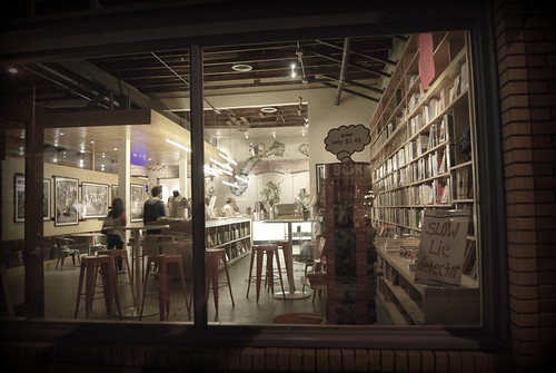 Equator Cafe Bookstore - Blue Bottle - First Friday - 10/2 by you.