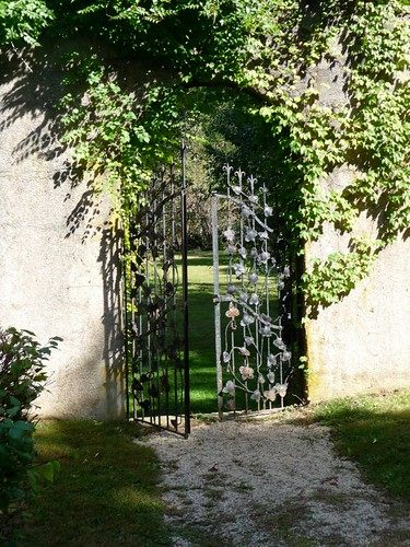 Fruit Tree Garden Gate