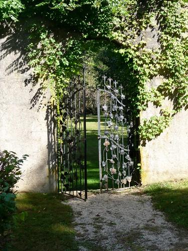 Fruit Tree Garden Gate