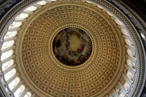 Inside of the Capitol Dome