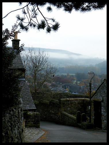 Lingering mist, Bakewell
