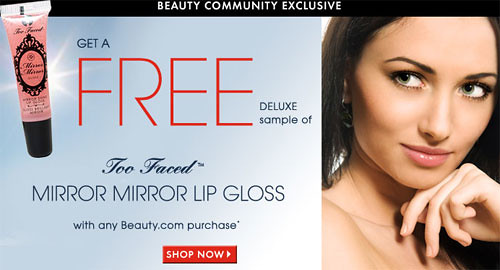 Free Two Faced Lip Gloss