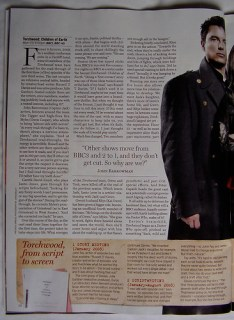 TORCHWOOD - 'Radio Times' Feature