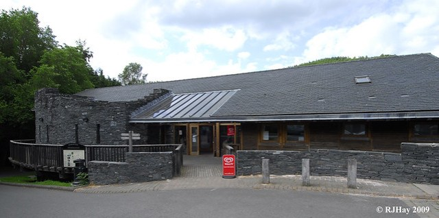 Knighton COmmunity Centre and Offa's Dyke Path Information Centre