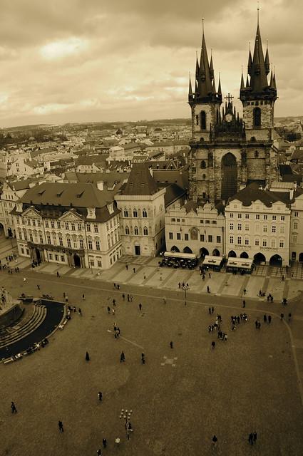 Vista desde el Ayuntamiento