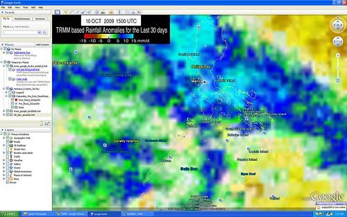 30 day Rain Anomaly