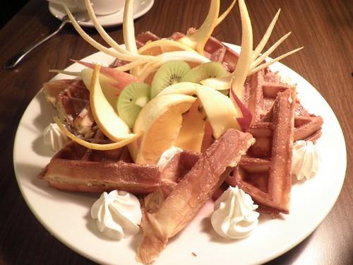 泰順街 Cafe Philo 黑啤酒與鮮製水果鬆餅1