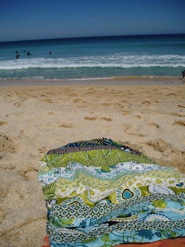 Mobius Wrap on the beach
