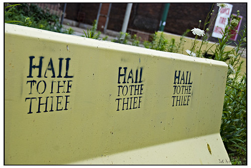 Hail to the Thief -July 30, 2009