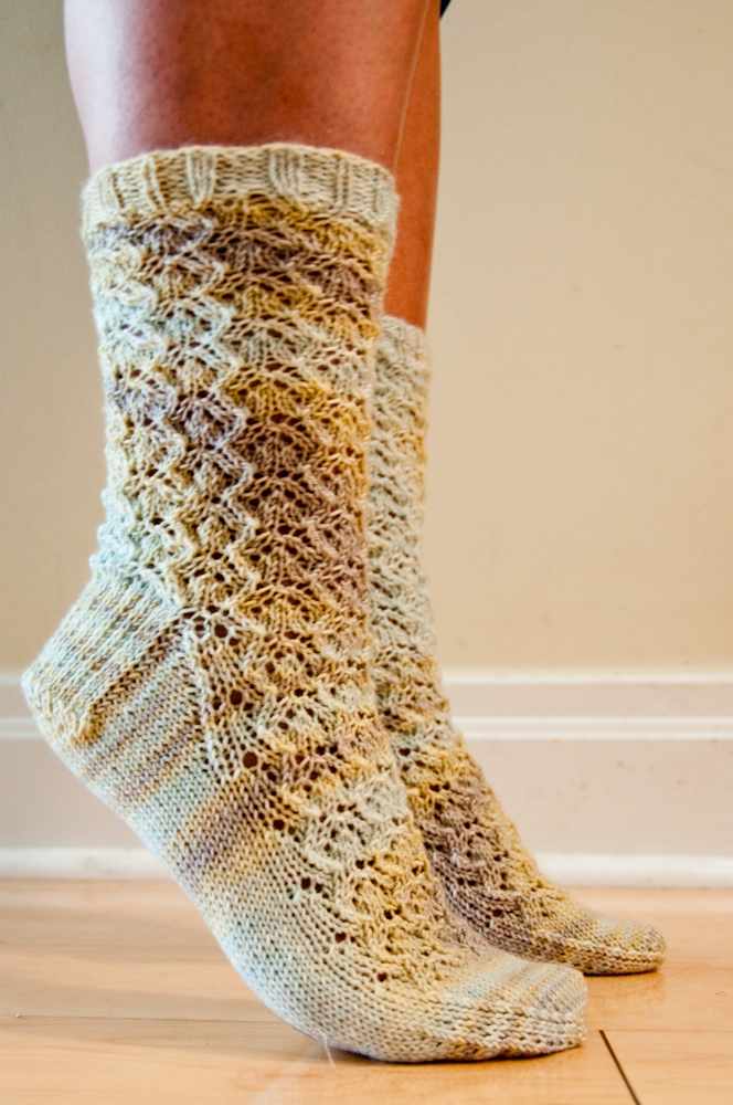 Glynis Socks - FINISHED!