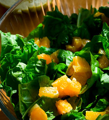 Spinach Orange Salad.