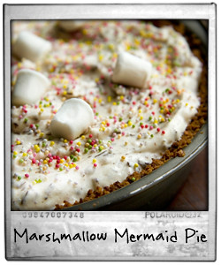 Marshmallow Mermaid Pie