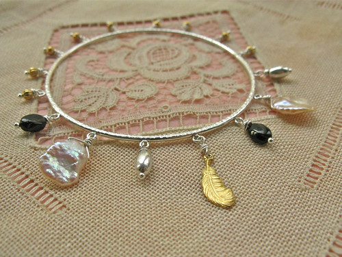 Golden Wings bracelet