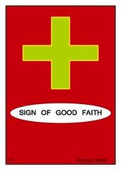 Sign of good faith