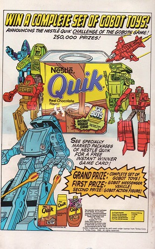 Nestle Quik and Gobots!