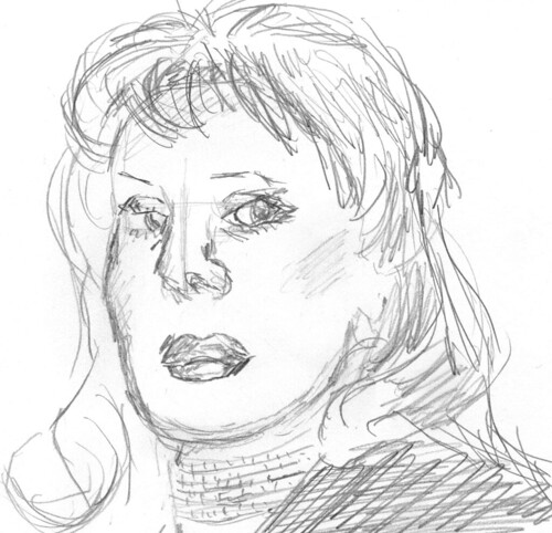 Drawing Unknown Faces, part 166, sketch 2