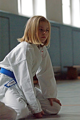 Blue Belt Girl Maria