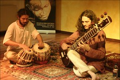Marco Nervegna (Sitar) e Ciro Montanari (Tabla...