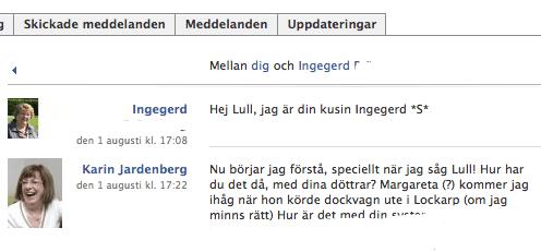Facebook är mainstream – fråga min mamma!