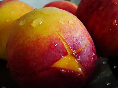 peach peelin' made easy