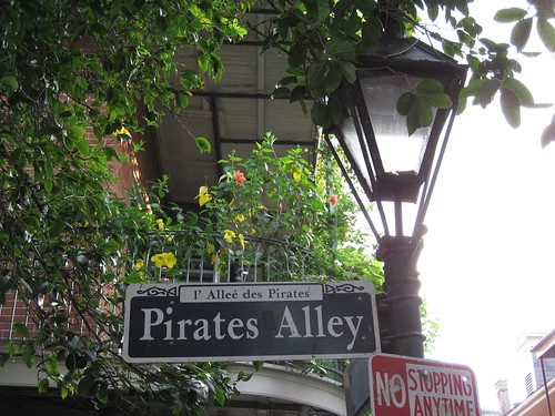 Pirate Alley - and yes it is a real street