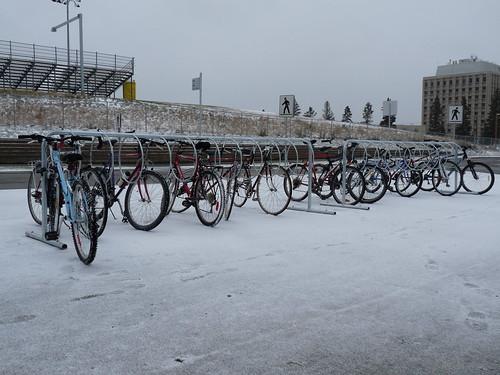 Biking in the Snow
