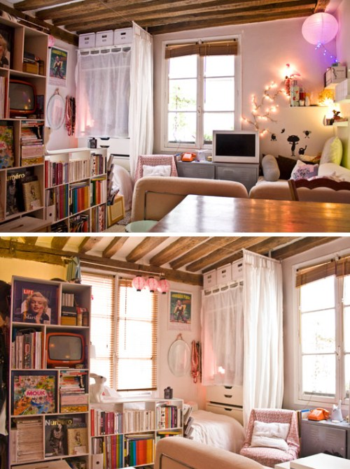 Tiny Paris Apartment