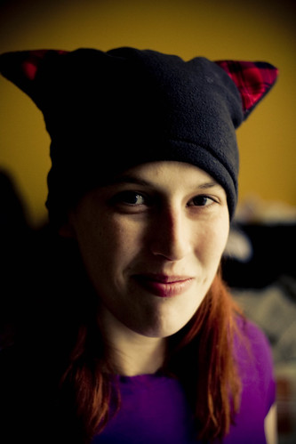 Kitty Fleece Hat