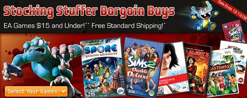 EA Stocking Stuffers 09' - Games for  and under