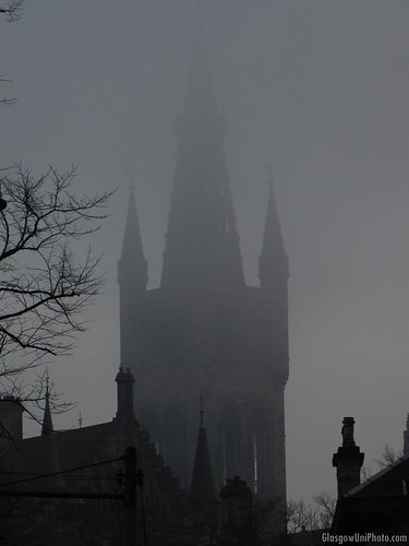 Spires in the Fog