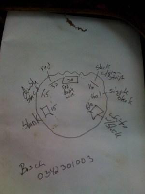 404 Ignition Wiring Diagram?  MercedesBenz Forum