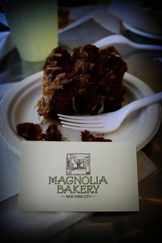 NYC: Magnolia Bakery