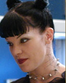 Pauley Perrette - Abby's neck tattoo