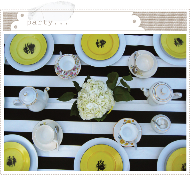 Bumblebee Place Settings