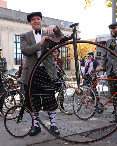 """DC Tweed Ride 2009"" by Laura Rush"