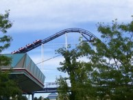 Cedar Point - Corkscrew Lift Hill