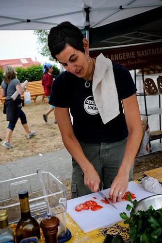 Chef Becky  Selengut (photo: Valentina Vitols)