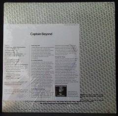 captain beyond US Promo Release of 1st Album