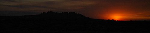 Sunset over Buttes