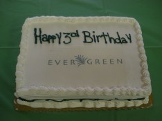 Evergreen Turns Three!