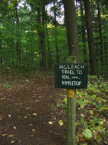 trail to Nippletop