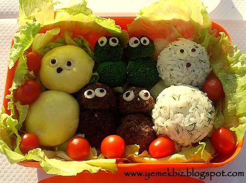 Lunch Box - Öğle yemeği menüsü