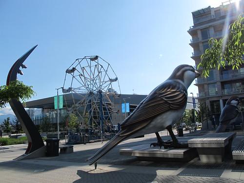 Big Ferris Wheel, Bigger Bird by Canadian Veggie
