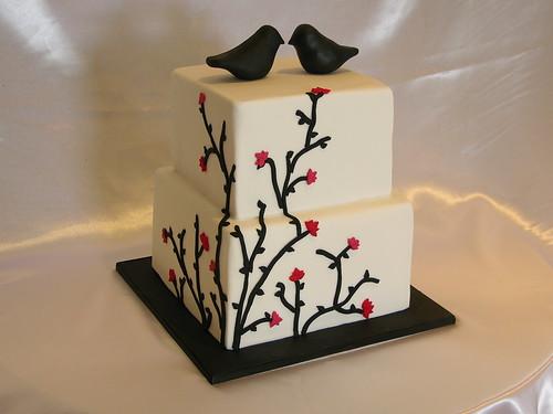 3803543284 c777964487 Baú de ideias: Decoração de casamento preto e branco