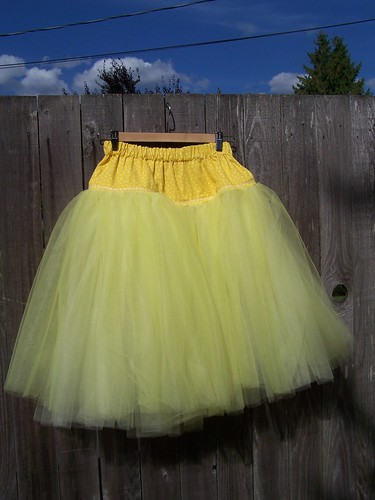 There is something about a petticoat that makes you feel girly
