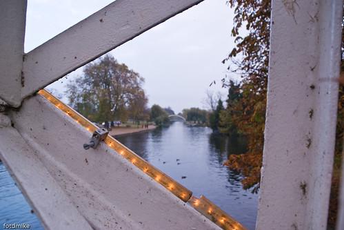 Footbridge over the river, Bedford _G100624
